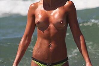 Cheeky Girls se ard la Mediterana!