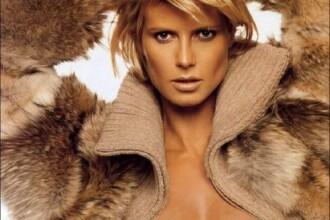 Iubitul Alinei Puscau a pus-o pe Heidi Klum sa se dezbrace