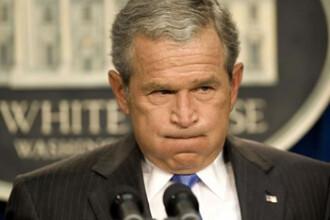 Primele semne bune:Bush linisteste populatia, bursa se deschide in crestere