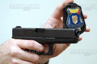 Hoti de masini, opriti cu focuri de arma in Campulung Moldovenesc