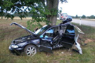 Grav accident pe o sosea din Arges. Doi oameni si-au pierdut viata