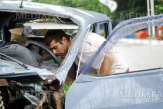 Accident grav la intrarea in Stefanestii de Jos! Un tanar a murit