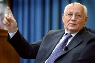 """Gorbaciov: """"Tensiunile dintre Rusia și Occident, un pericol uriaș"""""""