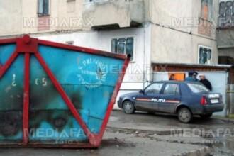 O fetita de nici doua luni a fost abandonata pe capacul unui tomberon din Oradea