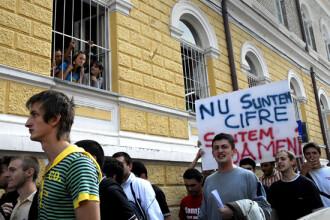 Studentii ameninta ca vor intra in greva la 1 octombrie