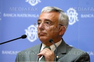 Isărescu: Volatilitatea cursului, posibil efect al crizei financiare