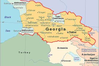Proteste violente in capitala Georgiei
