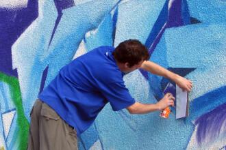 Tara arde si baba... Primaria Capitalei declara razboi desenelor graffiti!