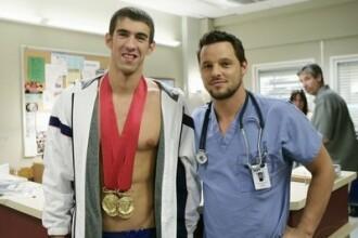 Michael Phelps isi arata muschii de actor