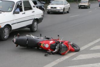 Motociclist ranit grav pe un bulevard din Baia Mare