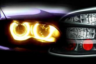 Masinile produse in UE vor avea faruri speciale de zi din 2011