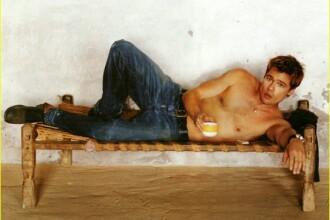 Brad Pitt, cel mai sexy tatic