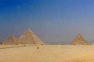 Mormintele muncitorilor care au ridicat piramidele, descoperite!