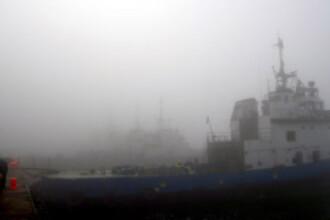 Vreme rea si la malul marii! Porturile constantene au fost inchise