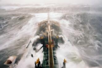 O nava ruseasca s-a scufundat in apele bulgare ale Marii Negre