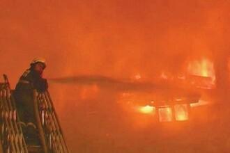 Explozie, urmata de incendiu, intr-o localitate din Bihor