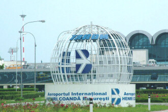 Patru avioane parasite pe aeroporturile bucurestene