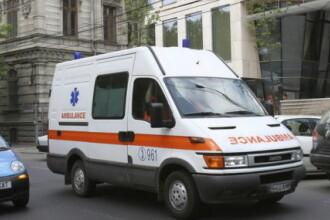 Accident de munca la Oradea. Un barbat era sa ramana fara un picior