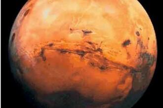 FOTO. Misterul norilor de pe planeta Marte. Fotografia care da batai de cap specialistilor
