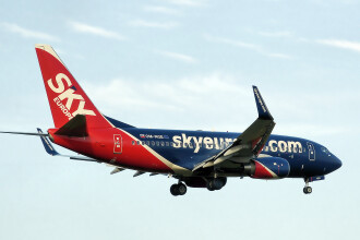 Toate avioanele jos, a venit falimentul! Criza a lovit in plin SkyEurope!
