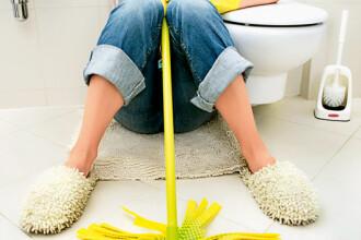 Chiuveta din baie are mai multi microbi decat scaunul de toaleta