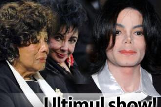 Michael Jackson, ultimul show! VEZI VIDEO de la inmormantare