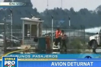 Avion cu 112 pasageri la bord, deturnat de un fanatic religios din Mexic!