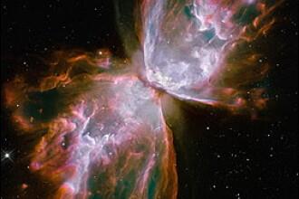 Aripi de fluture in spatiu! Imagini impresionante trimise de Hubble!