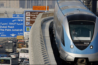 Metrou de opt miliarde de dolari, inaugurat in Dubai!