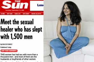 Isi castiga existenta facand sex cu barbatii altora! Pana acum, sunt 1.500!
