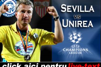 Sevilla 2-0 Urziceni! Singurul sut, minge de arbitru!