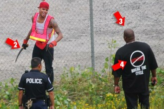 Chris Brown curata grajduri! Pedeapsa pentru ca a lovit-o pe Rihanna