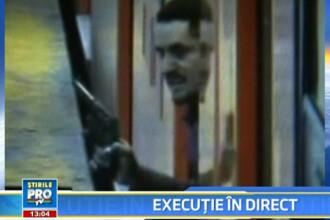 Surprins de camerele video! A deschis focul la metrou si a omorat 2 oameni!