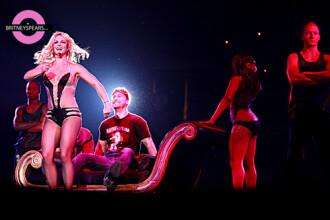 Britney Spears i-a dansat in poala lui Lance Bass