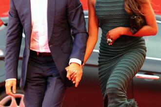 Naomi Campbell, stralucitoare la Venetia, datorita unui smarald gigant