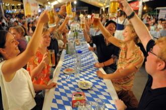 Berea va curge in valuri la Brasov. S-a dat startul la Oktoberfest