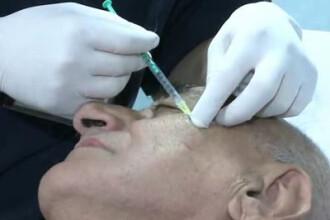 VIDEO SOC: Viorel Lis si-a injectat Botox!