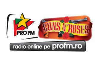 ProFM a lansat un nou radio online, ProFM Guns N'Roses!
