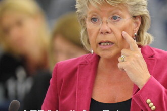 Vicepresedintele CE Viviane Reding: