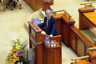 Emil Boc, in Parlament: Greul nu a trecut inca!