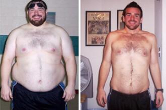 Transformare uluitoare si o vointa de fier! A slabit 55 de kg intr-un an!