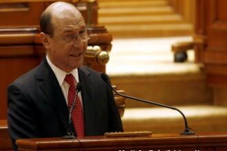 Basescu catre sala goala: Romania va semna un nou acord cu FMI in 2011