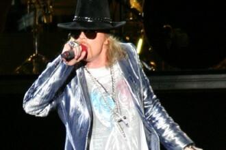 Guns N' Roses la Bucuresti: fara Slash si cu un Axl Rose cam obosit!