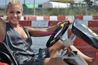 Andreea Patrascu este pasionata de carting