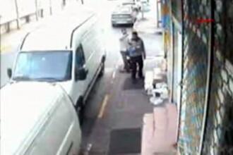 Executat cu un glont. Crima intre frati, surprinsa de camere! VIDEO