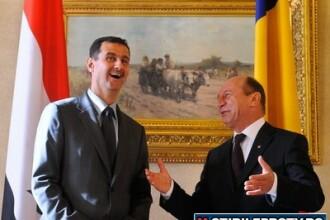 Wikileaks: Basescu stia de la Bashar al-Assad ca Siria vrea reluarea discutiilor cu Israel