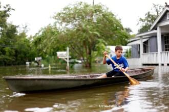 Louisiana, regiune devastata acum 6 ani de uraganul Katrina, este iar amenintata de pericol