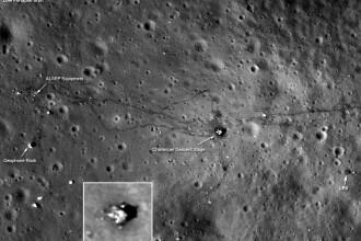 NASA iti demonstreaza ca nu a mintit si ca oamenii chiar au ajuns pe Luna. FOTO