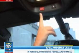 VIDEO. Automobilele noi vor putea apela automat 112 daca soferul e implicat intr-un accident