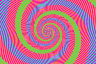 Cate culori vezi in aceasta imagine? Esti sigur ca nu e doar o iluzie optica?